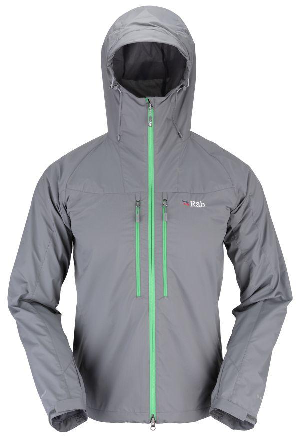 Veste coupe-vent Rab VR Lite Alpine Jacket couleur Smoke