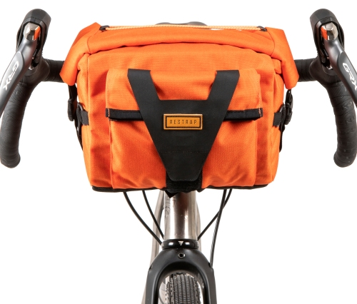 Sacoche de guidon Restrap Bar Pack, orange.