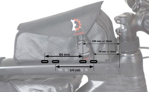Sacoche Revelate Design Mag Tank Bolt-On.