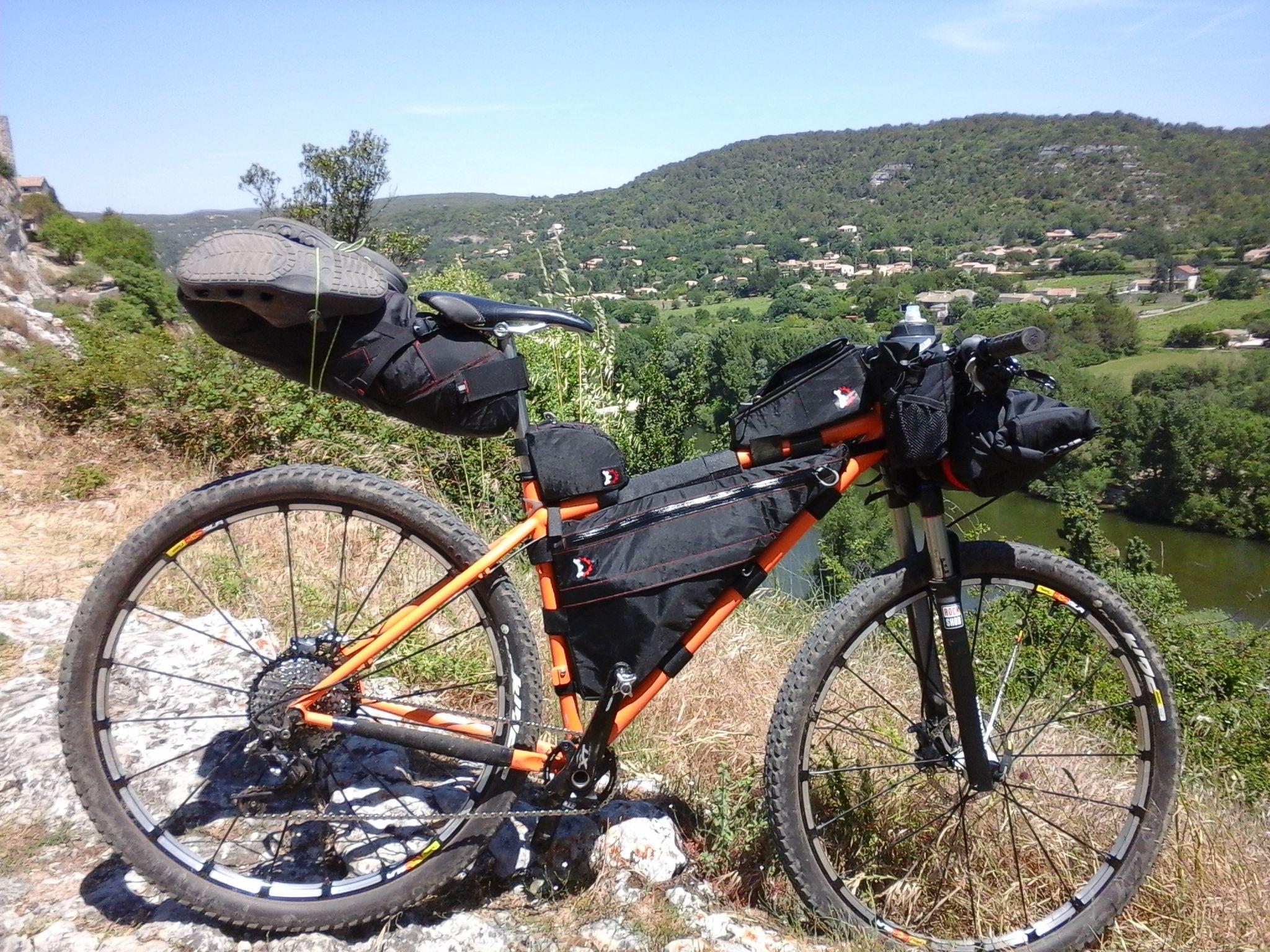 Cyclisme Outdoor Triangle Vélo avant Tube Cadre Sac Vélo De Montagne Vélo De Montagne Pochette