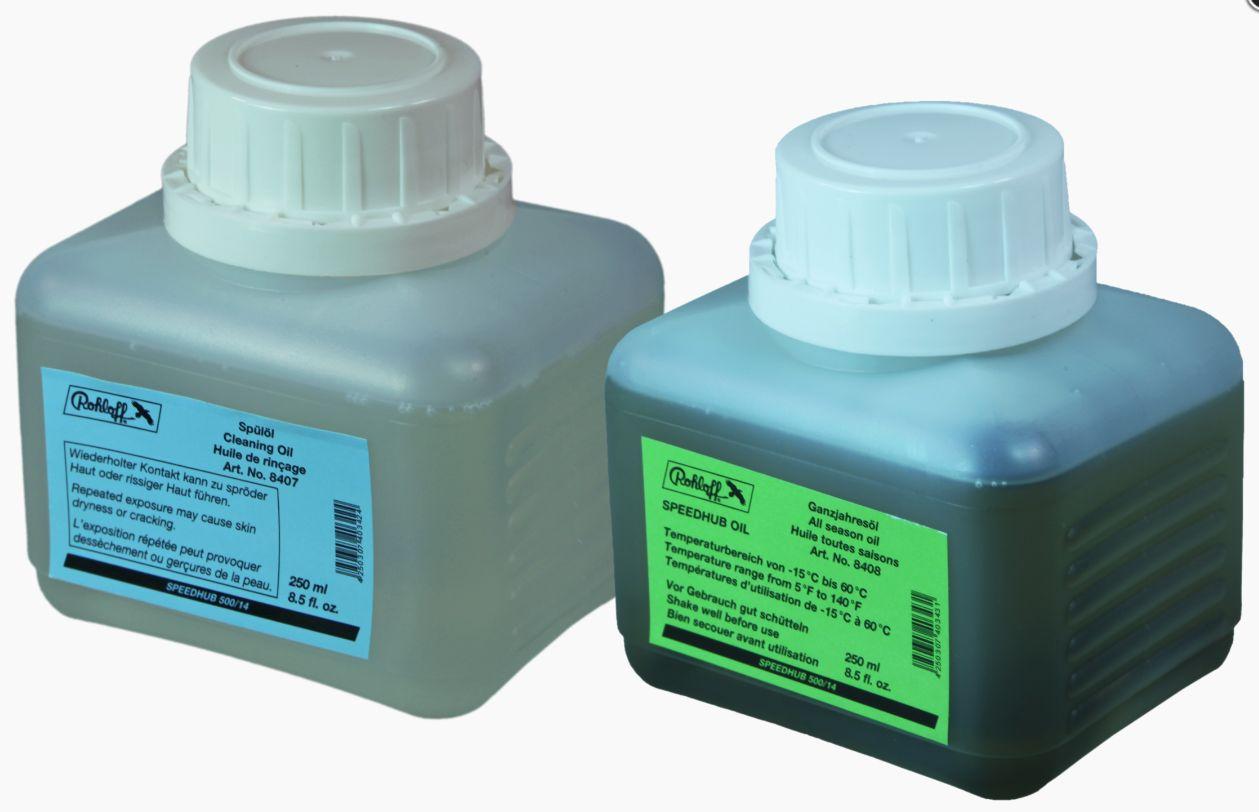 Kit vidange 250 ml pour moyeu Rohloff