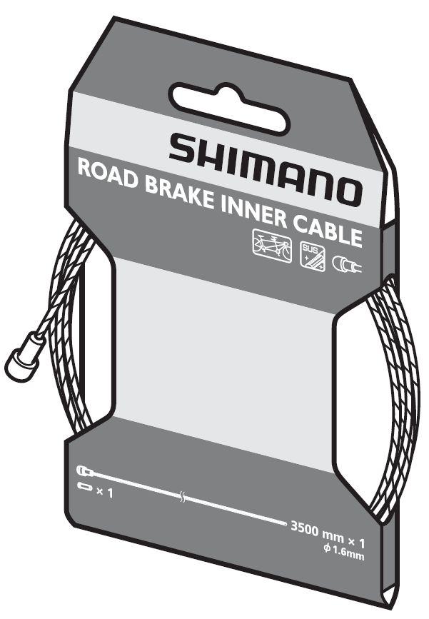 Câble de frein route Shimano SUS pour tandem.