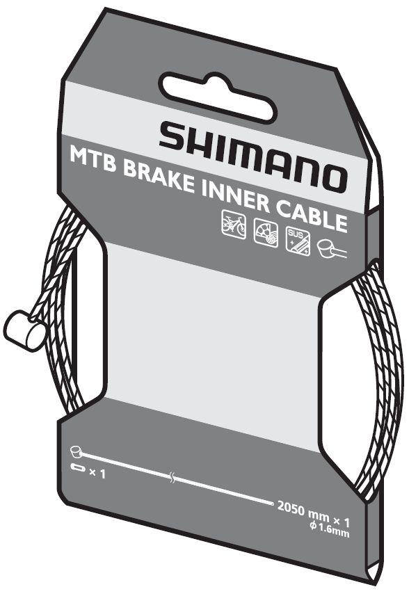Câble de frein VTT Shimano SUS.