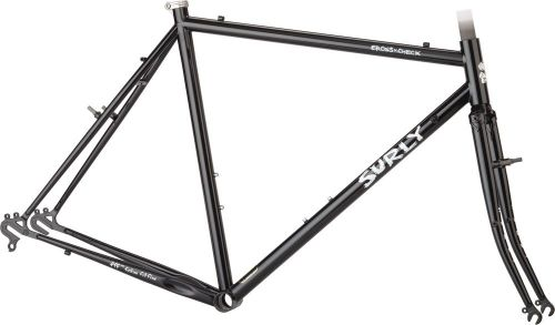Kit cadre Surly Cross Check, Gloss Black.
