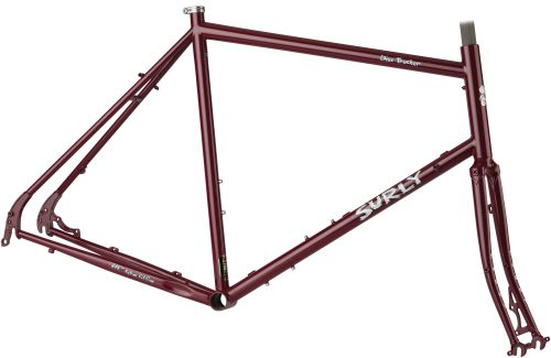 Kit cadre Surly Disc Trucker Maroon