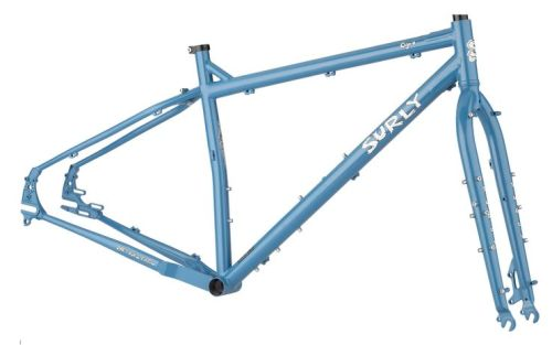 Kit cadre Surly Ogre, Cold Slate Blue.