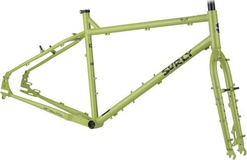 Kit cadre Surly Troll, Sage Green.