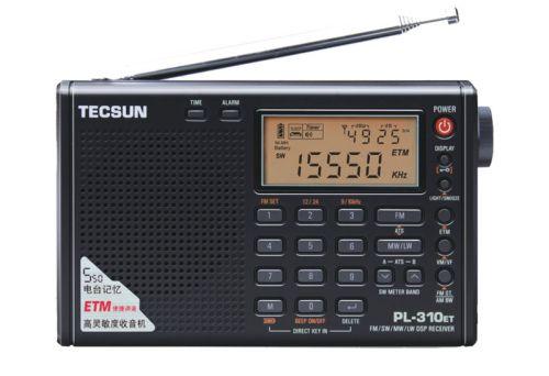 Radio Tecsun PL-310ET.