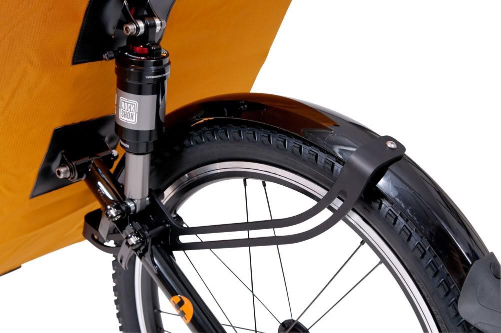 Garde-boue pour remorque à vélo Mule ou Single Trailer.