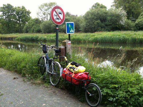Remorque vélo Tout Terrain Mule.