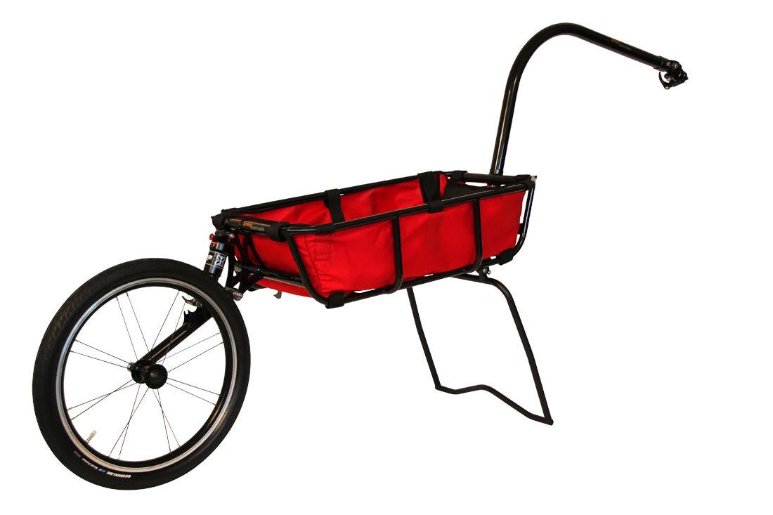 Remorque vélo Mule Plus de Tout Terrain.