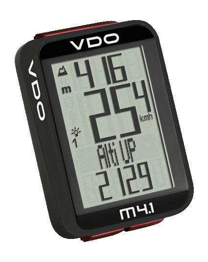 Compteur de vélo VDO m4.1 WR avec fil