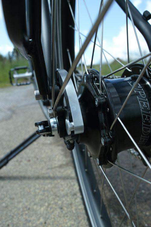 Vélo de voyage Cyclo-randonnée Rohloff