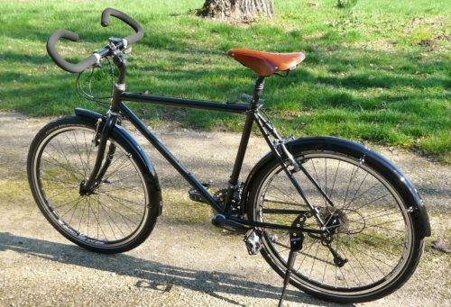 Vélo de voyage cadre acier