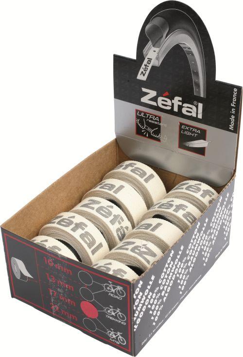 Fonds de jante adhésifs Zéfal en coton.