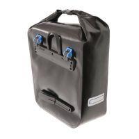 Paire de sacoches arrières Crosso Dry avec fixation Rixen & Kaul